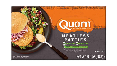 MEATLESS CHICKEN PATTIES - QUORN