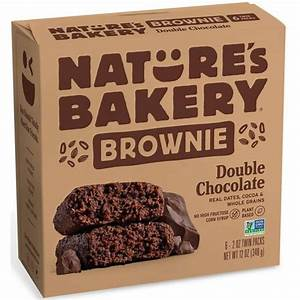 Double Chocolate Brownie- Nature's Bakery
