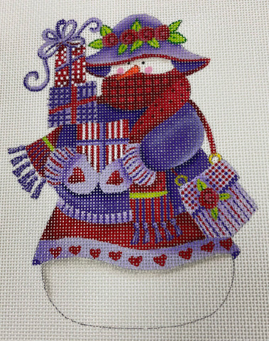 Painted Pony Designs, The Whimsical Collection Snowwoman