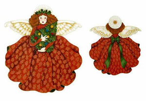 Russet Tree Top Angel - 2 Sided