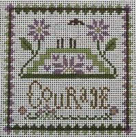 Courage ©Little House Needleworks