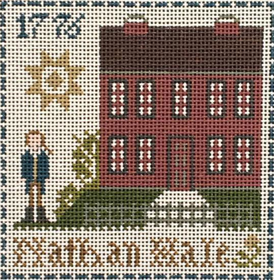 Nathan Hale ©Little House Needleworks