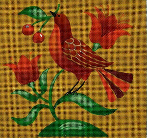 Folk Bird 3 ©Stephanie Stouffer/Ruth Levison Designs