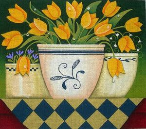 Yellow Tulips @Karen Cruden