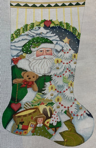 Toy Santa Stocking