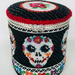 Day of Dead Hinged Box with Hardware