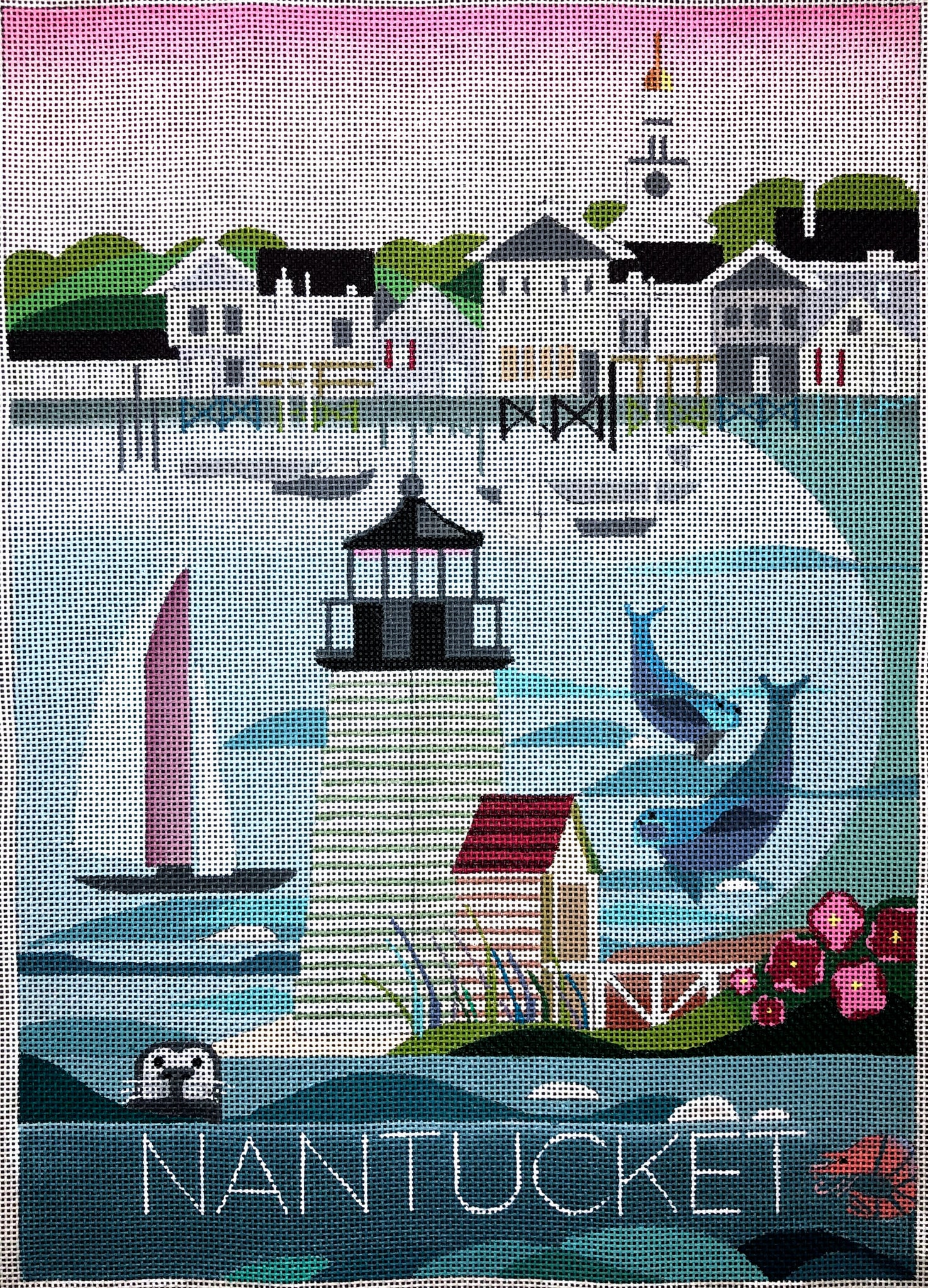 These United States Poster, Nantucket