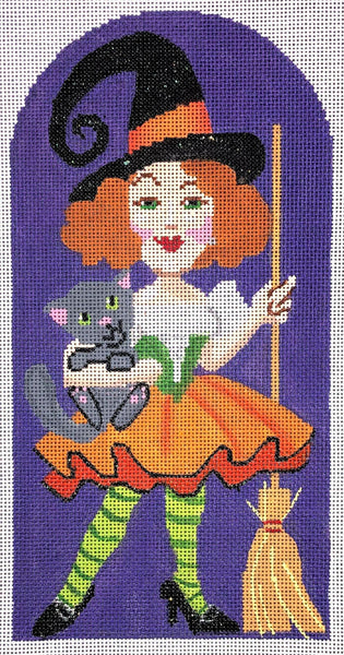 Bella Donna, Sexy Witch Canvas and Stitch Guide