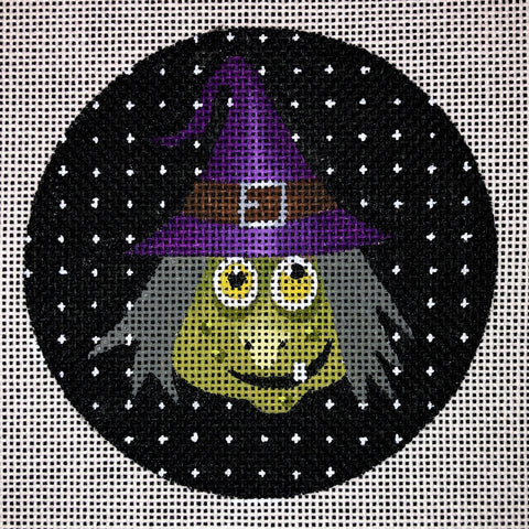 Witch with Purple Hat