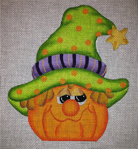 Whimsical Pumpkin - Star hat