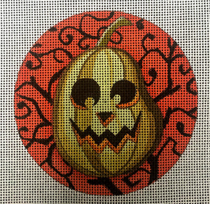 Jack O' Lantern with Orange and Black