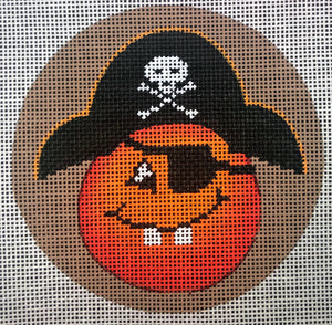 Pirate Captain Pumpkin