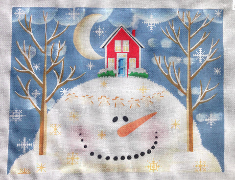 Snowy Hills Includes Stitch Guide by Aggie Aspinwall
