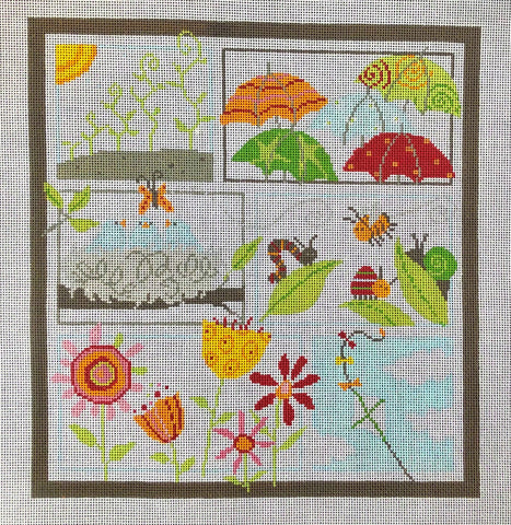 Spring by Pippin - Stitch Guide Included
