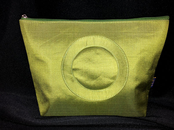 Self-Finishing Silk Bag - Green