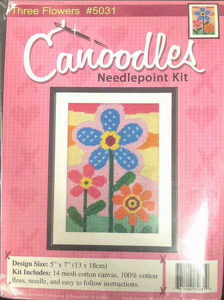 Canoodles -Three Flowers