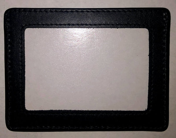 Self-Finishing Leather Credit Card Wallet