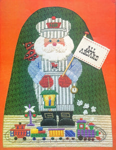 Toy Train Santa Kit - Stitch Guide by Libby Sturdy
