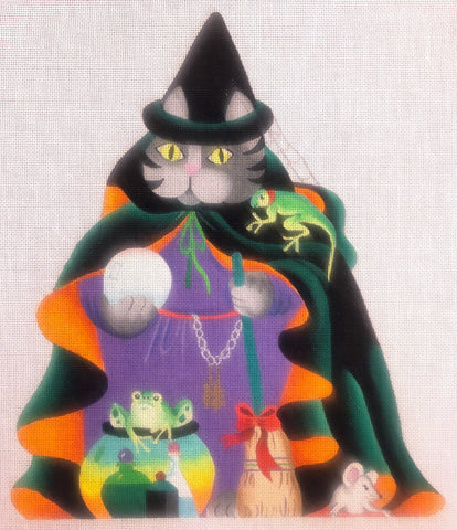Cat Witch - 2 Sided