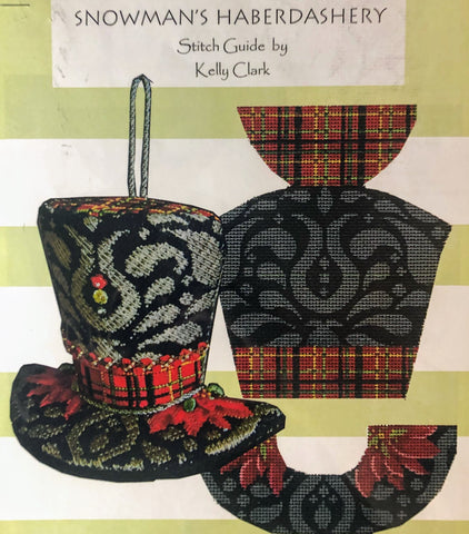 Plaid Taffeta & Black Velvet Hat