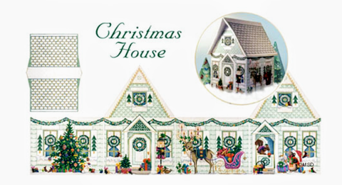 Woodland Christmas House