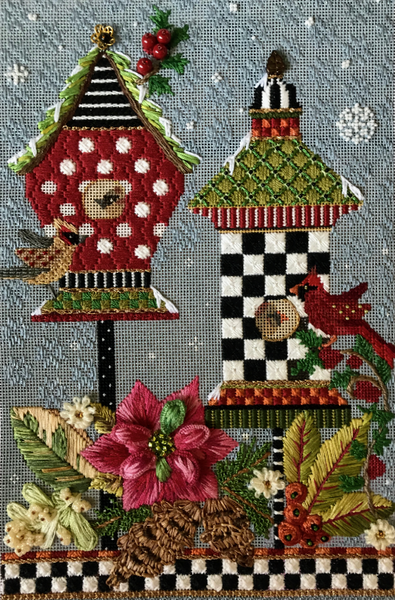 Melissa Shirley Seasonal Birdhouses Series with Paulette