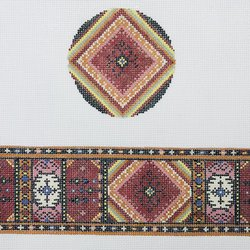 Turkish Kilim Hinged Box with Hardware
