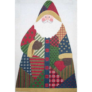 Patchwork Santa - One Sided