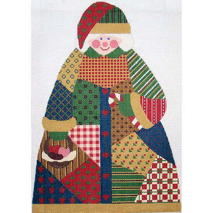 Patchwork Mrs. Clause w/out Apron
