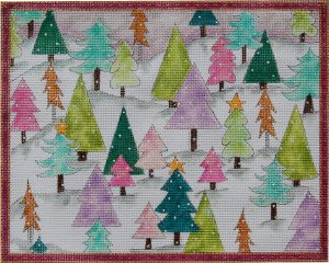THE SUGAR PLUM FAIRY CHRISTMAS TREE FOREST - STITCH GUIDE ONLY