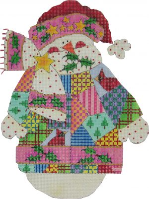 WINTER PATCHWORK SNOWMAN
