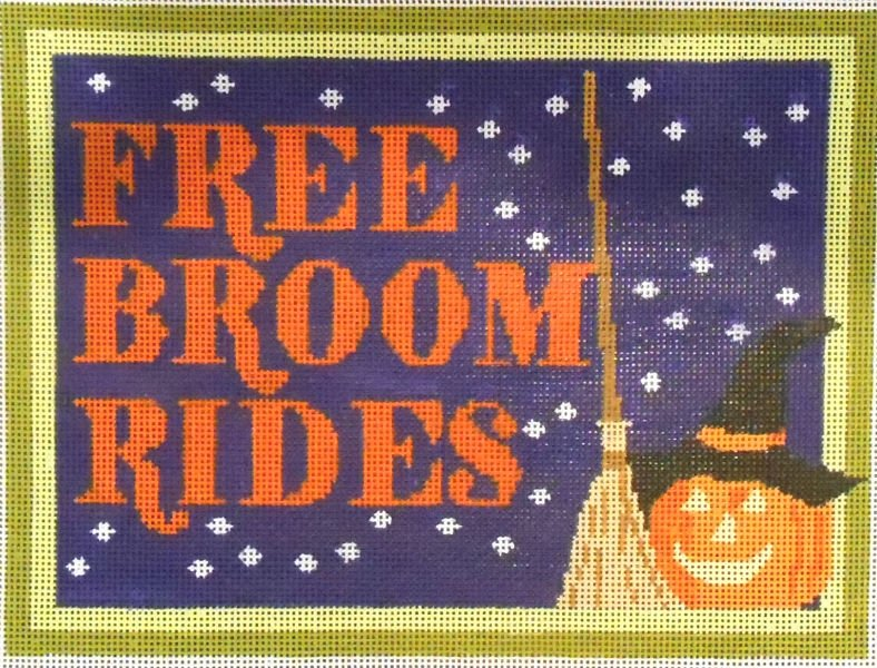FREE BROOM RIDES BY JL CANVAS COMPANY