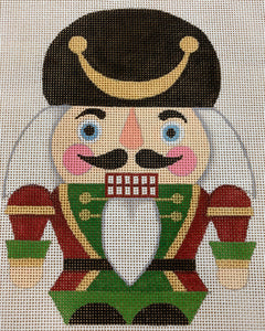 Nutcracker Scottish - Canvas Only