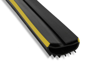 Wrap-around roller shutter seal profile