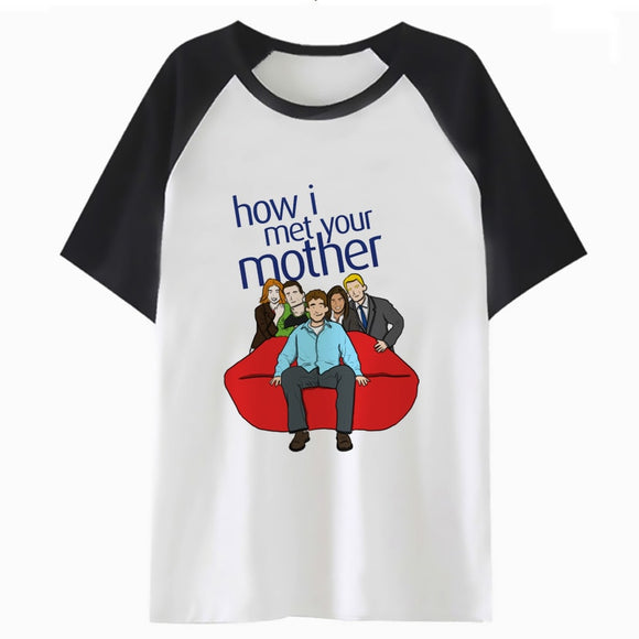 how i met your mother t shirt harajuku men for t-shirt top male hop funny hip streetwear tee clothing tshirt H1263