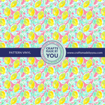 "12"" x 12"" Pattern Adhesive Vinyl- When Life Gives You Lemons"