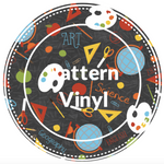 "12"" x 12"" Pattern Heat Transfer Vinyl- School"