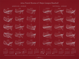 2014 MLB Travel Calendar <br>(2014)