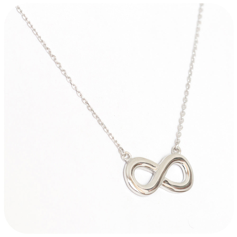 Silver Infinity Necklace - Victoria's Jewellery