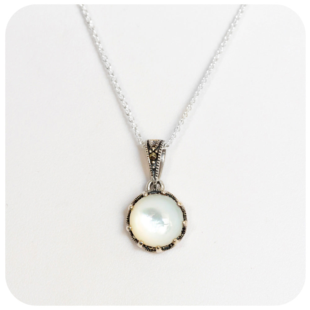 Mother of Pearl Pendant - Victoria's Jewellery