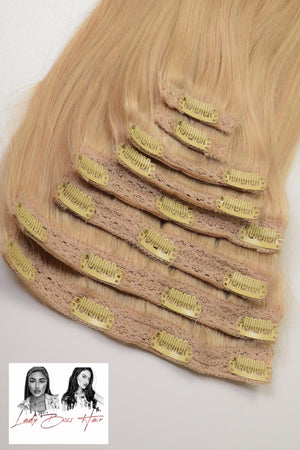 Bild in Slideshow öffnen, Hair Extensions - CLIP - IN 100g  / 100% ECHTHAAR!