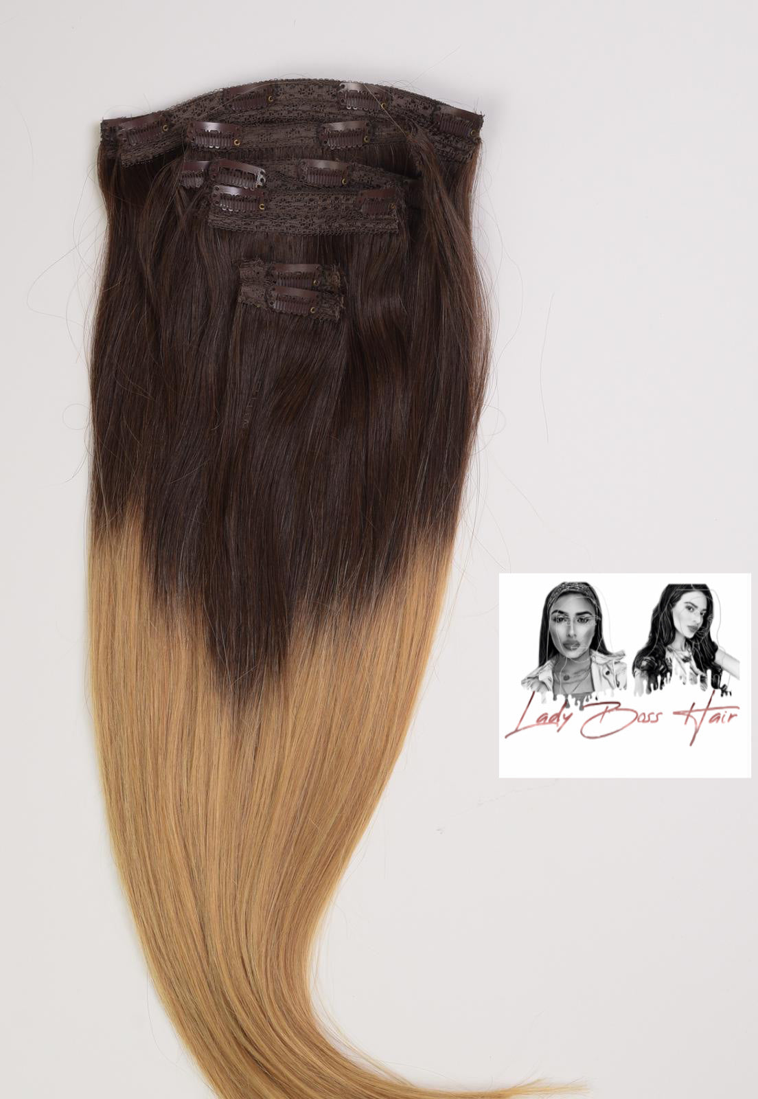 Hair Extensions - CLIP - IN 200g  / 100% ECHTHAAR!