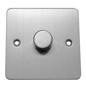 1 Gang 1 Way Dimmer Switch Flat Plate