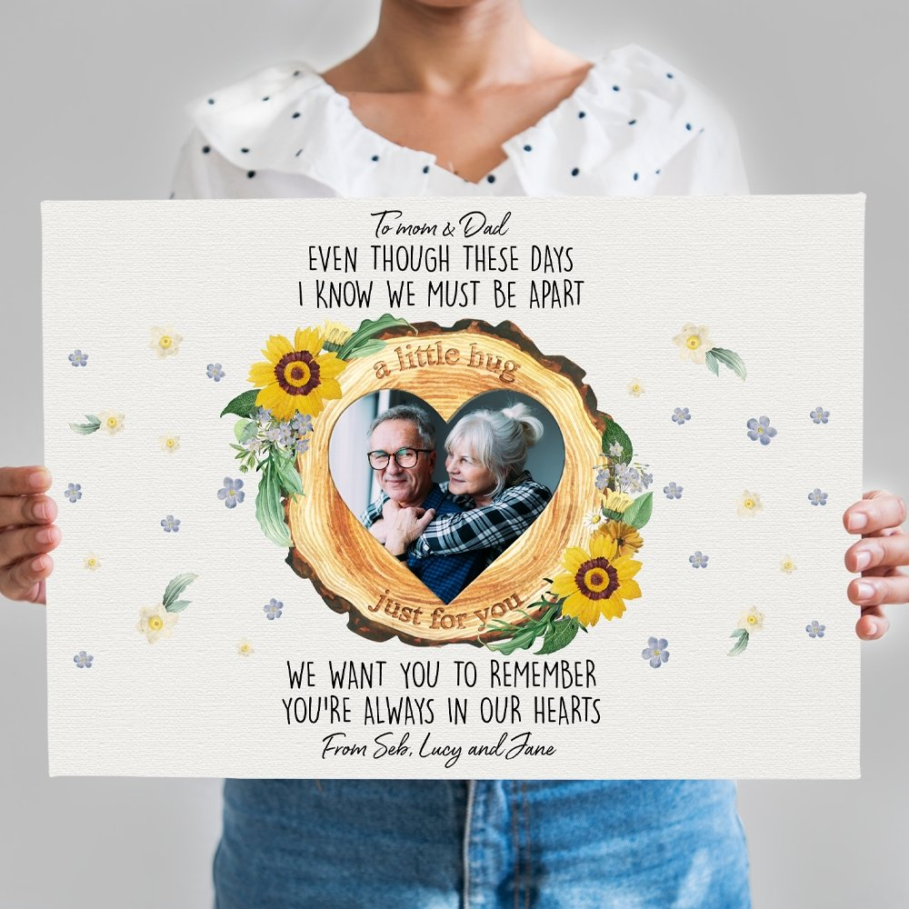 Your father passed away and you want to save his image vividly. Let this Custom Photo Canvas help you do that. Choose a meaningful picture and write a message that you want to give to your dad in heaven. Create a memorial gift in your own way to show fond remembrance to the daddy in your memory.