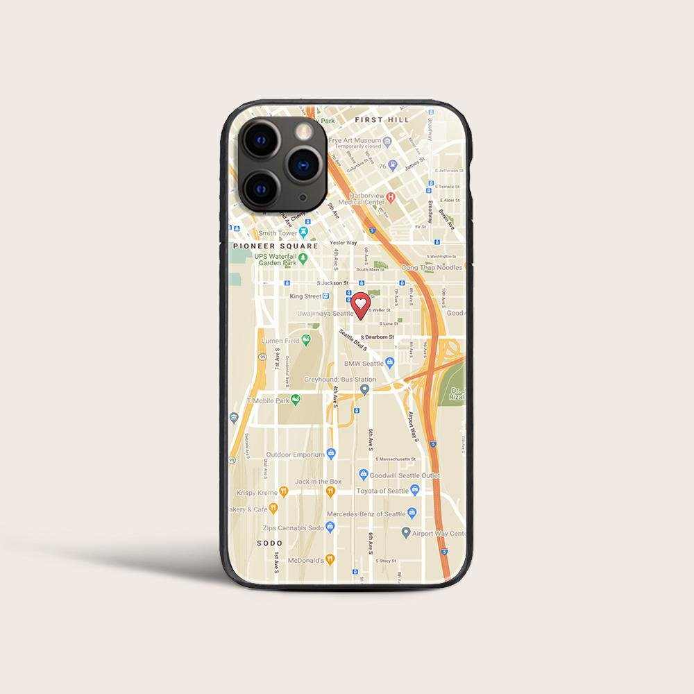 Your dad often slips his phone on the ground and spends a lot of money to repair it. So, why not give him a Custom Map Print Phone Case made just for him? It's not only a useful gift to help him protect his phone but also a tool to remind him of the right way to go back home.