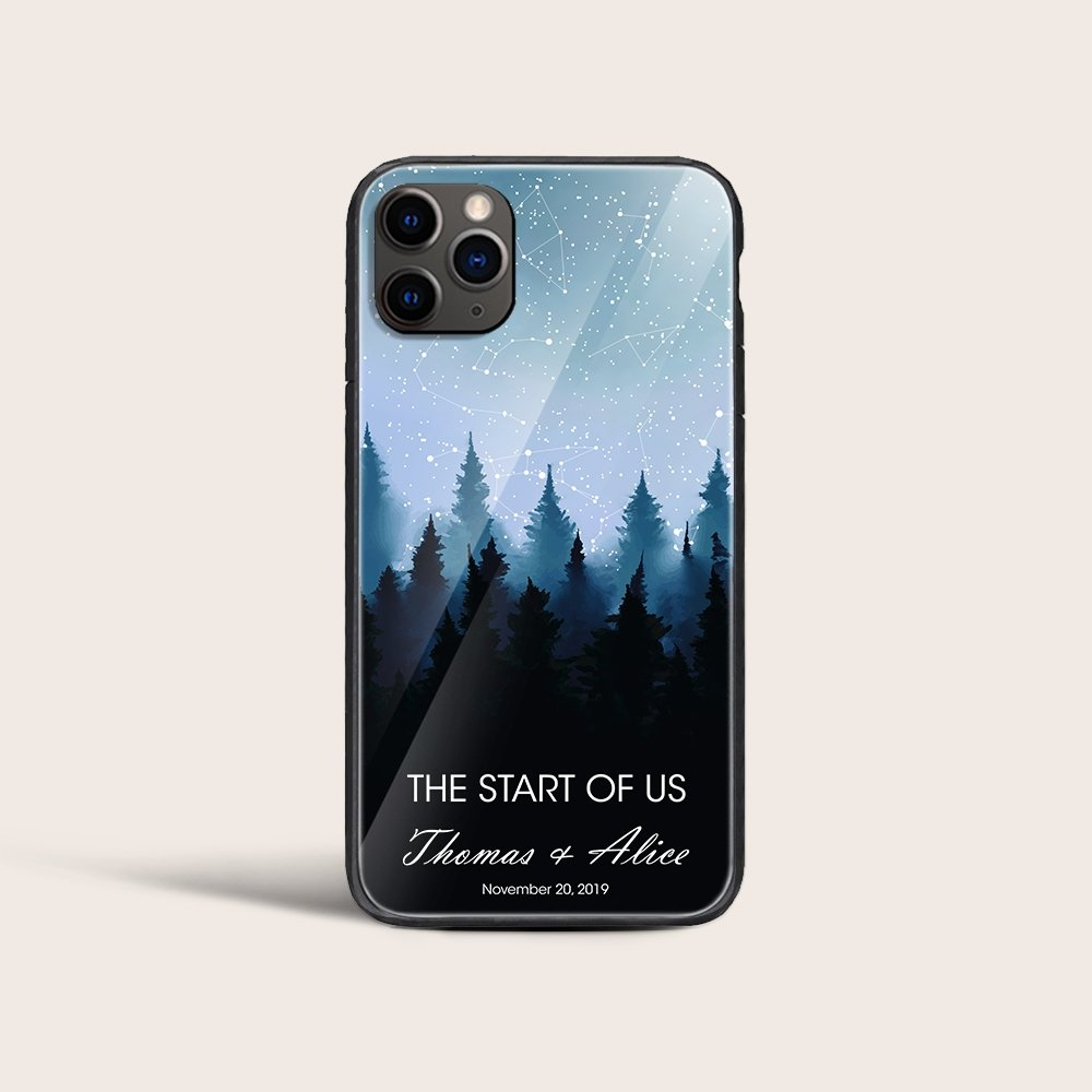 Phone cases are necessary, but generic cases no longer are. This star map phone case is sure to protect your phone in your style. Just provide where & when you found love, you'll see the alignment of the stars and constellations as they appeared in the night sky. This gorgeous phone case is available for most Iphone and Samsung devices.