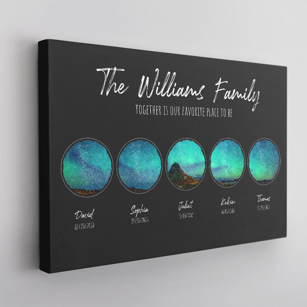 A custom star map is also a  cool idea for your dad, especially if he is an astrology lover or space lover. This map will display exactly the constellation in the night sky over your chosen location on the date you request. Trust me, it'll be a big surprise for the dad on Father's Day.