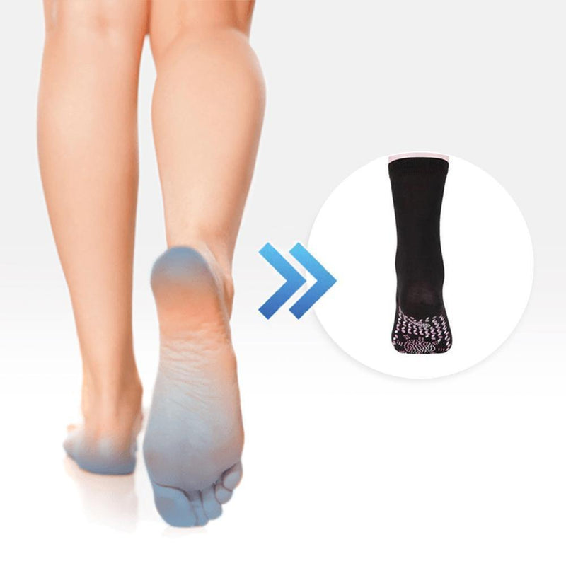 Tourmaline Therapy Health Socks