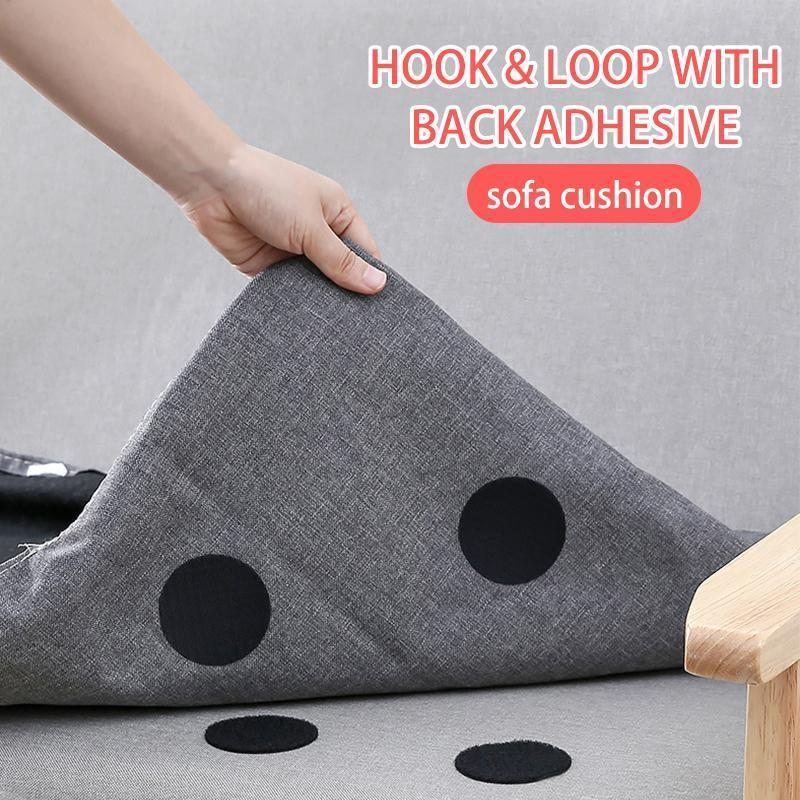 Rug Anchors Carpet Non-Slip Hook and Loop(5 pcs/ box)