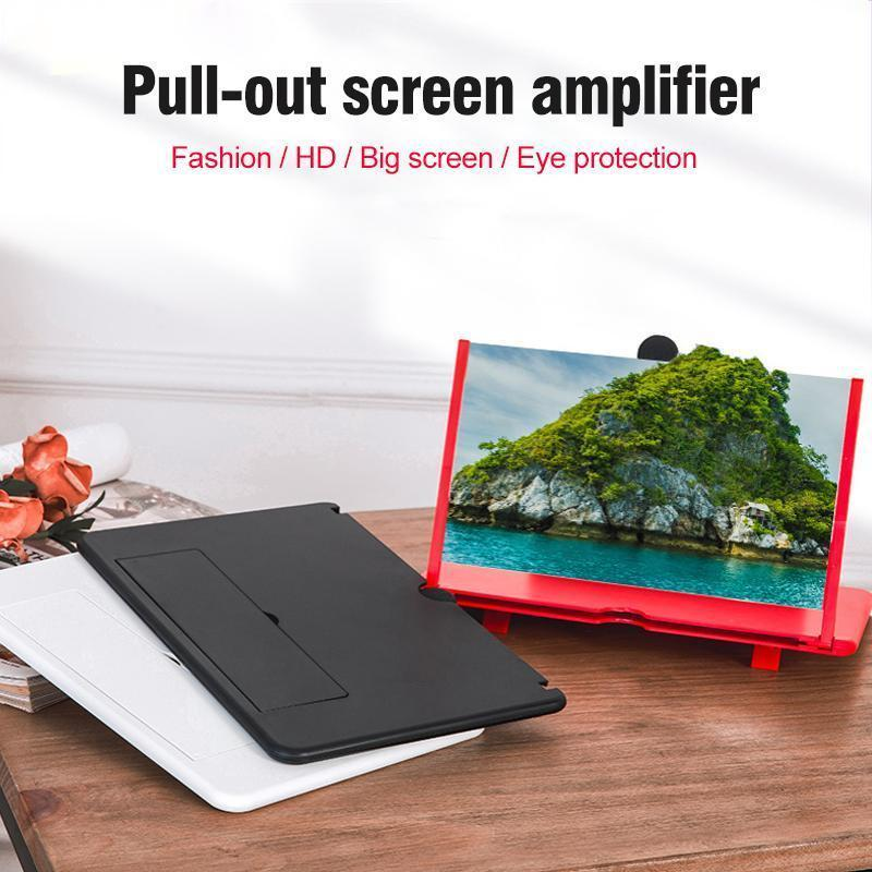 Pull-Out Phone Screen Amplifier